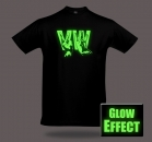 VW VOLKSWAGEN GLOW IN THE DARK T-Shirt Funshirt Fanshirt Partyshirt von SHIRTCHARTS